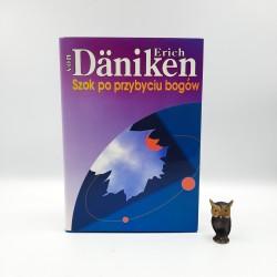 """Daniken E. """" Szok po przybyciu bogów """" Warszawa 1995"""