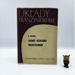"""Rosiński W. """" Układy tranzystorowe - zasady działania tranzystorów """" Warszawa 1966"""