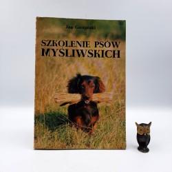 """Gieżyński J. """"Szkolenie psów myśliwskich"""" Warszawa 1988"""
