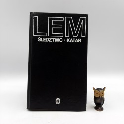 """Lem S. """" Śledztwo, Katar """" Kraków 1982"""