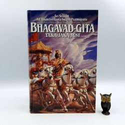 """Srimad S. """" Bhagavad Gita taka jaką jest """" 1986"""