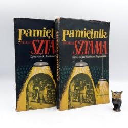 """Gryżewski K. (opr.) """" Pamiętnik Feliksa Sztama """" T.I-II - Warszawa 1955"""