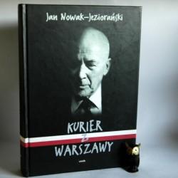 """Nowak -Jeziorański J.""""Kurier z Warszawy"""" Kraków 2000"""