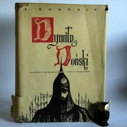 """Borodin S."""" Dymitr Doński"""" Warszawa 1955"""