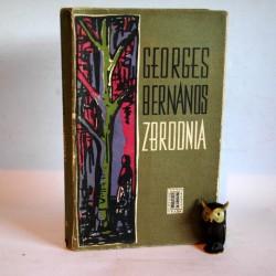 """Bernanos G. """" Zbrodnia"""" Warszawa 1959"""