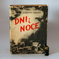 """Simonow K."""" Dni i Noce"""" Warszawa 1949"""