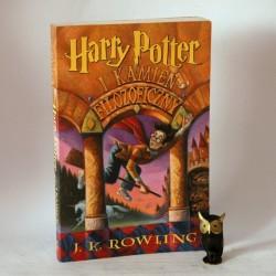 """Rowling J.K. """"Harry Potter i Kamień Filozoficzny"""" Poznań 2000"""