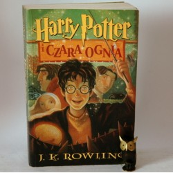 """Rowling J.K. """"Harry Potter i Czara Ognia"""" Poznań 2004"""