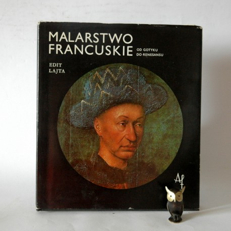 """Lajta E"""" Malarstwo francuskie"""" Budapeszt 1979"""